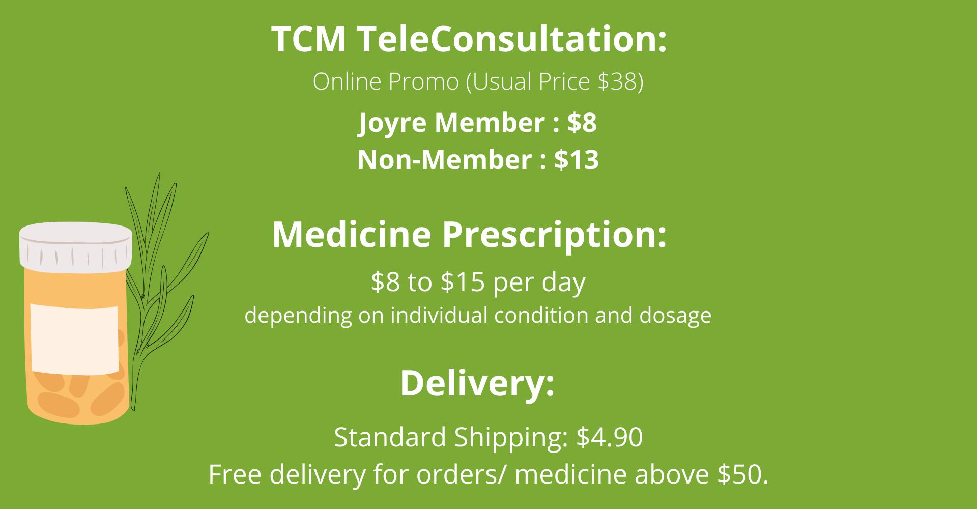 tcm teleconsult fees