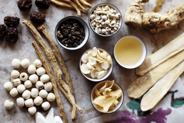 TCM Herbs For The Skin